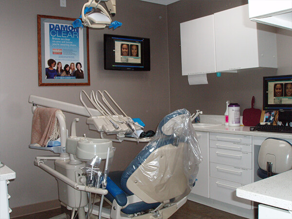 Boston Smile Center exam room