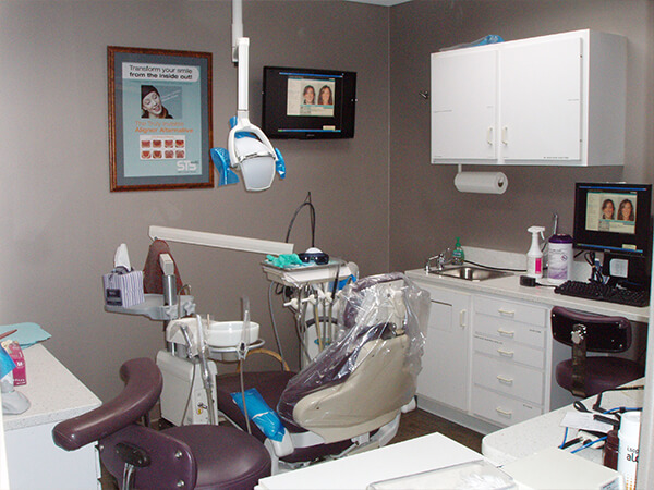 Boston Smile Center laser treatment room