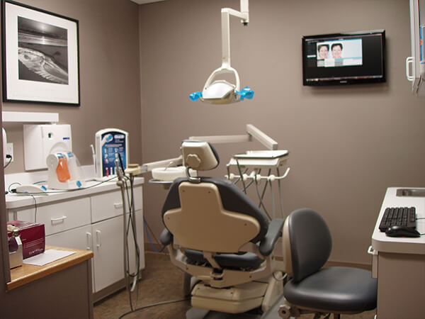 Boston Smile Center hygiene room